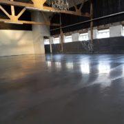 betonvloer loods